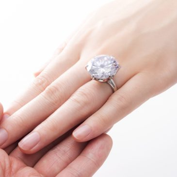 So Where Did This Engagement Ring Idea Come From, Anyway?