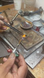 making silver bezel