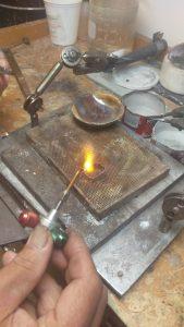 firing silver bezel